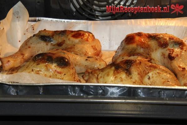 Kippenpoten uit de oven