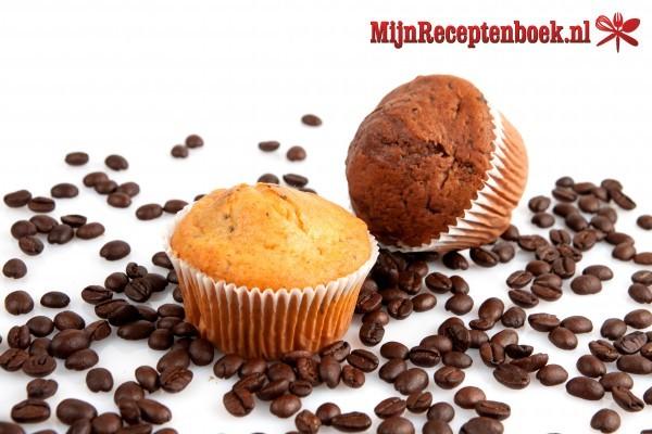 Koffie-chocolade muffins