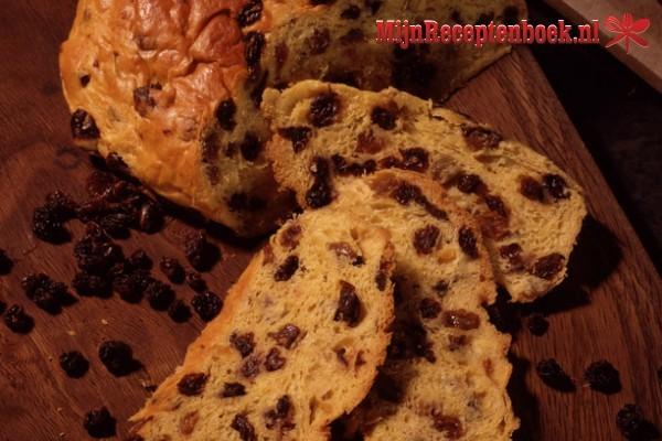 Krentenbrood recept