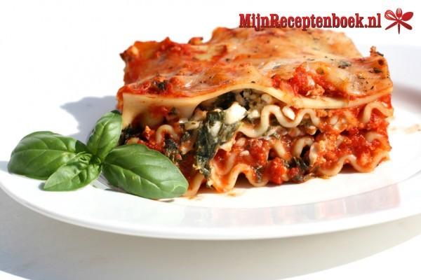 Lasagna voor de carneval