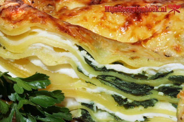 Lasagne met courgettes