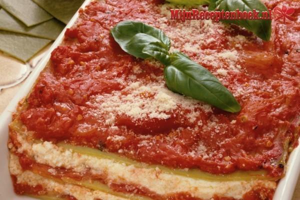 Pittige lasagne met béchamelsaus