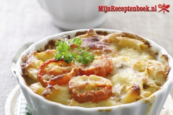 Macaroni-ovenschotel recept