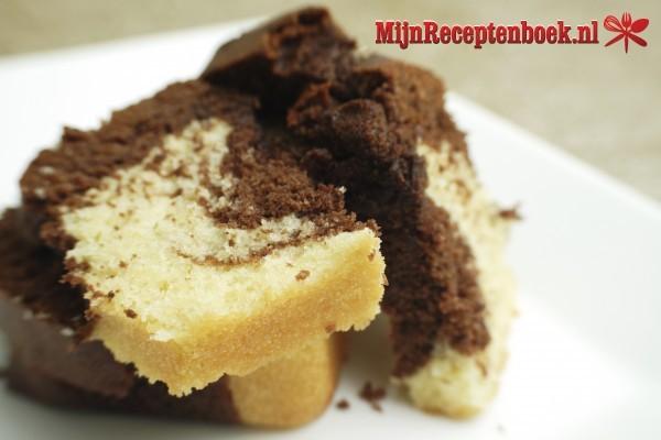 Honing marmer speltcake recept
