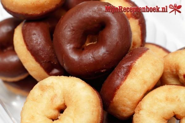 Mini-donuts voor de donutmaker recept