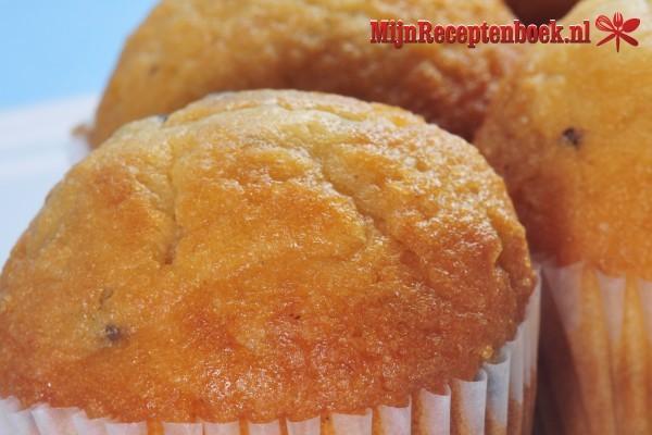 Dubbele koekjes met vanillecrème muffins