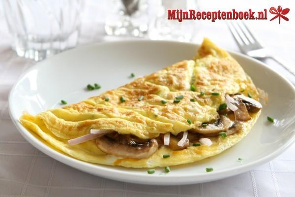 Omelet met wokgroente