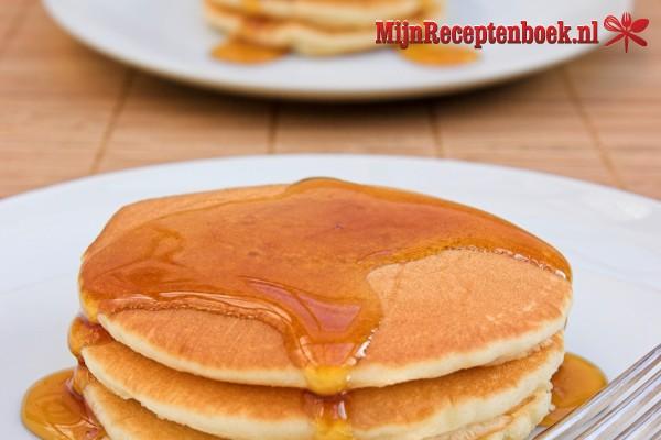 Pancakes op z'n Amerikaans
