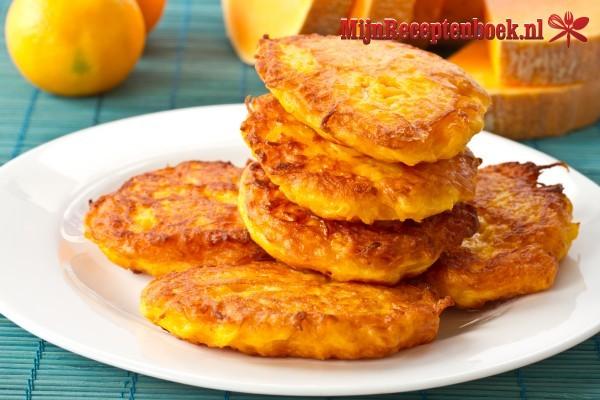 Pannenkoekjes met pompoen recept