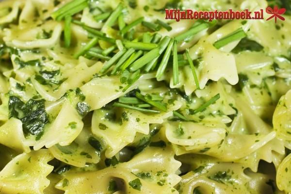 recept boursin spinazie