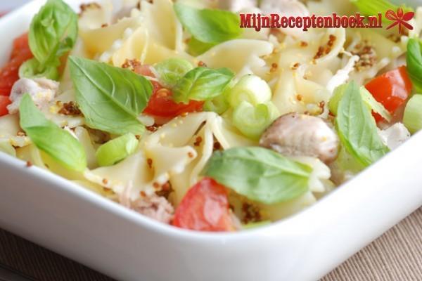 Koude pasta salade recept