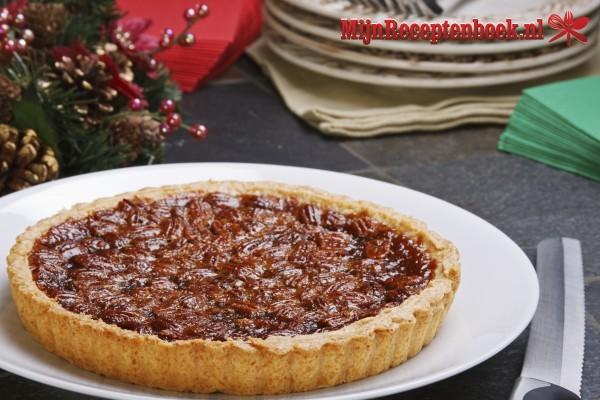 Walnoten honing taart