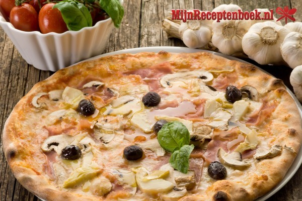 Verse pizza recept