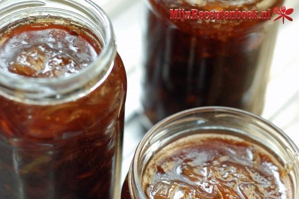 Peren-cranberry compote