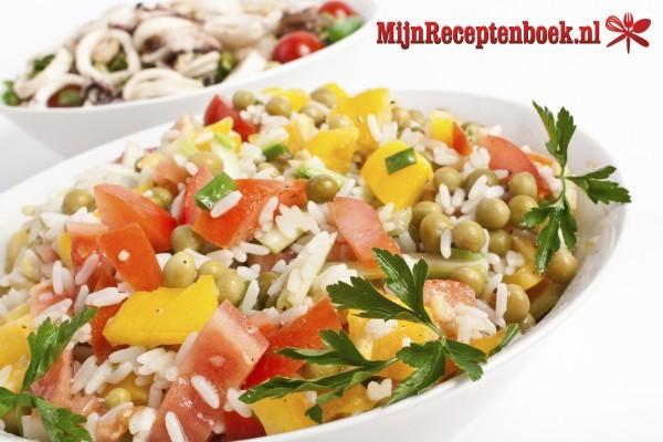 Tropische rijstsalade