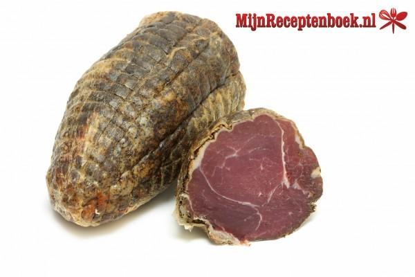 Monchou-runderrookvlees en/of schouderham pakketjes