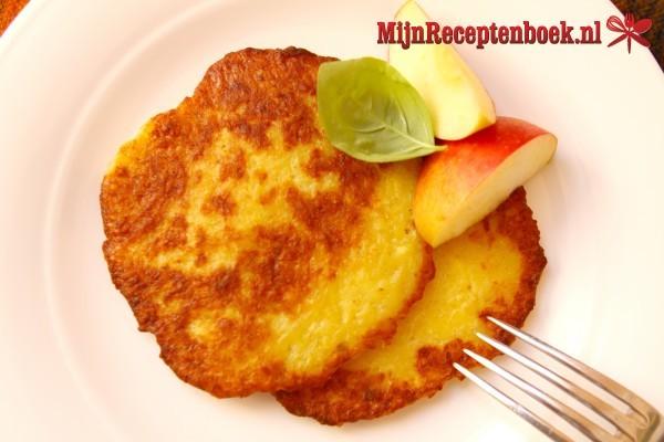 Indo aardappel/gehakt koekjes met spinazie
