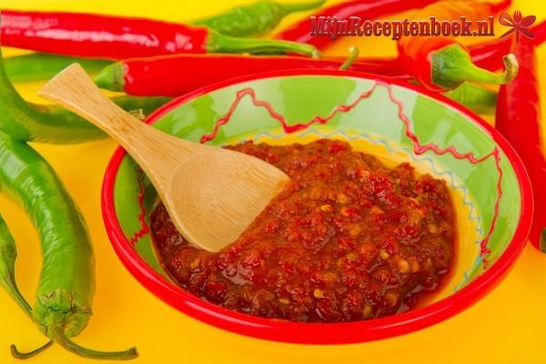 Sambal Badjak Jago (gebakken sambal)