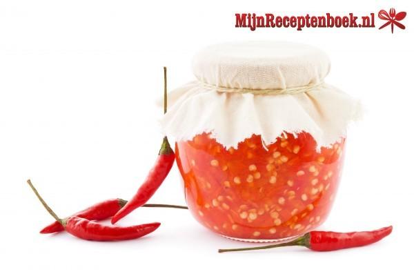 Sambal manis (zoete sambal van lomboks)