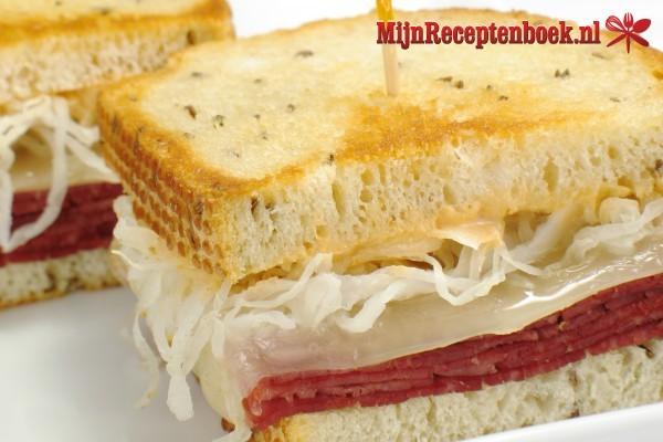Zomerse sandwich