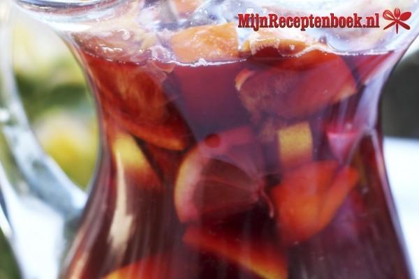 Sangria met rum