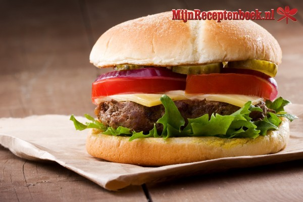 Hamburgers recept
