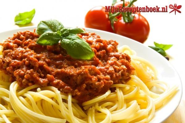recepten met bolognesesaus