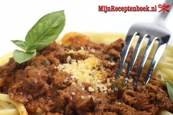 Vegetarische spagetti