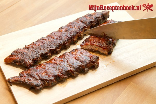 Spareribs in bier