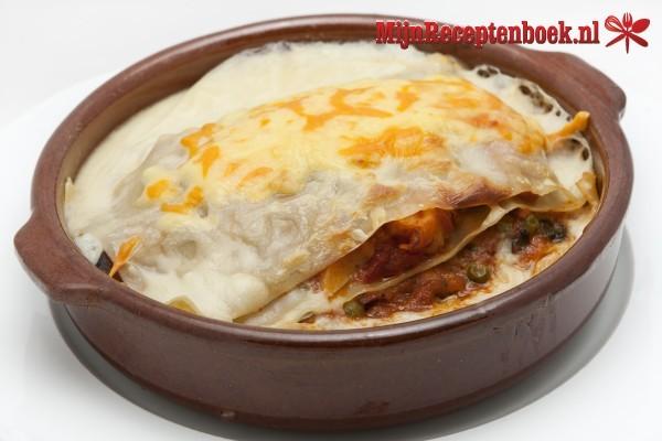Stoofvlees lasagne