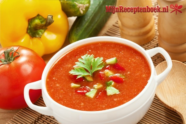 Tomaten courgettesoep recept