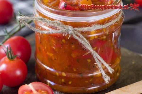 Paprika tomatensaus