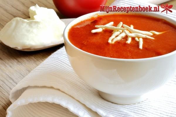 Zoete tomatensoep