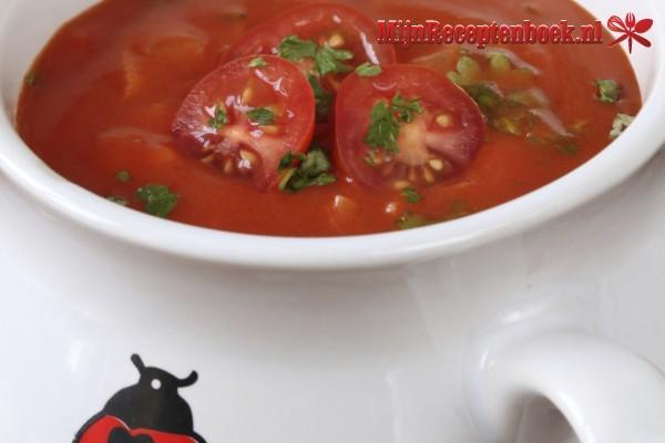 Verse tomatensoep recept
