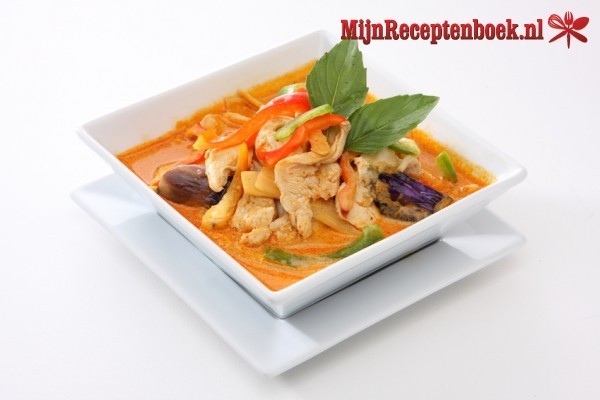 Thaise kipcurry recept
