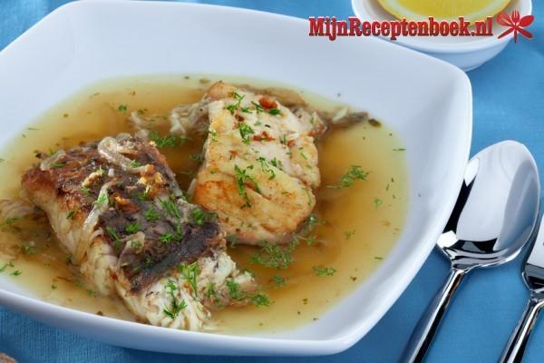 Cah Ikan (Gestoofde vis in een kruidige bouillon)