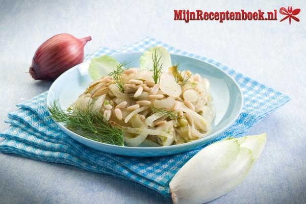 Witlof salade recept