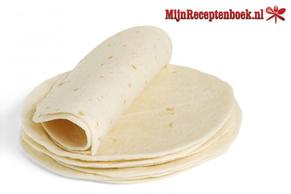 Wrap met roompate recept