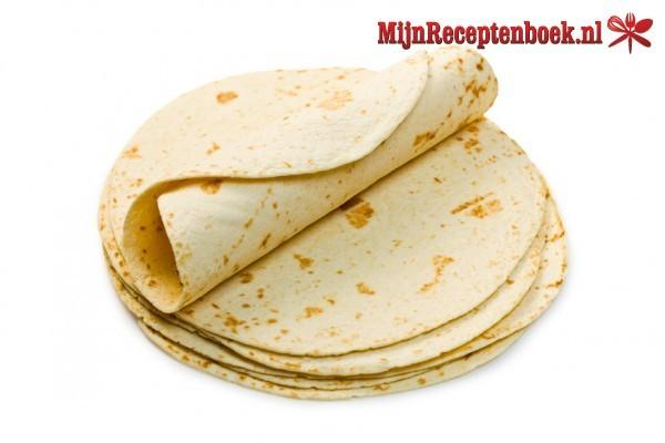 Tortilla wraps zelf maken recept