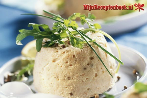 Zalmmousse recept
