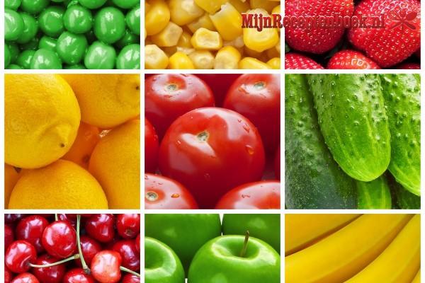Kwark met vruchtensalade